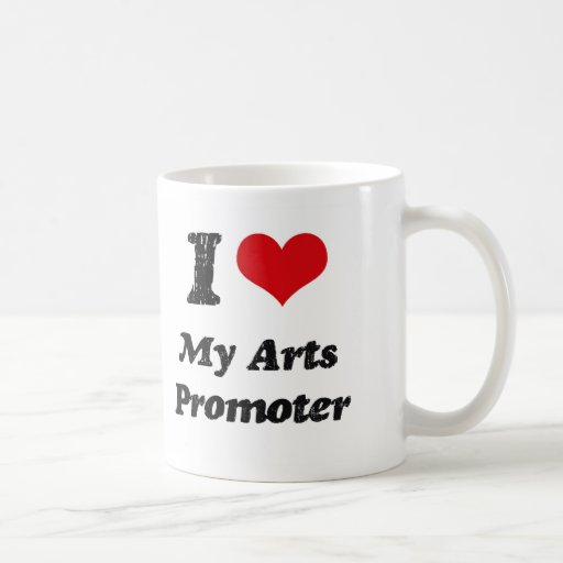 Corazón I mi promotor de los artes Taza