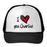 Corazón I usted Charlie Gorro