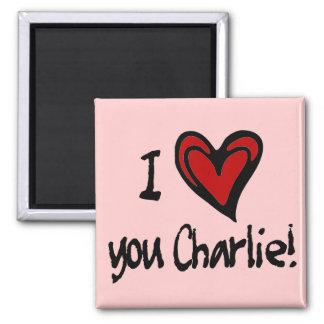 Corazón I usted Charlie Imán Cuadrado