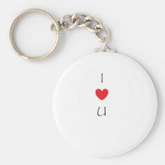 Corazón I usted Llaveros Personalizados