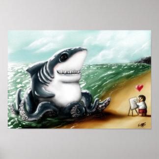 Corazón I usted, Sharktopus Impresiones