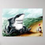 Corazón I usted, Sharktopus Póster