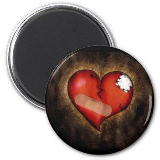 Corazón-imán del corazón quebrado de la reparación