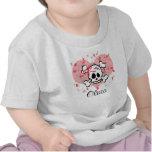 Corazón infantil personalizado del arco del rosa d