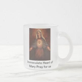 Corazón inmaculado de Maria Taza De Café