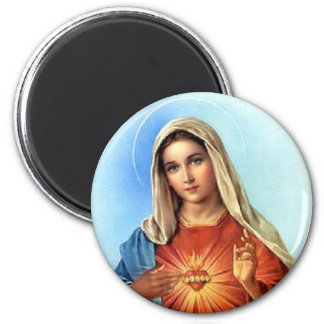 Corazón inmaculado Maria Imán De Frigorifico