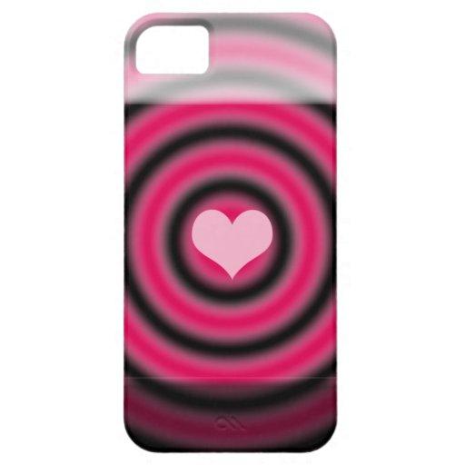 Corazón iPhone 5 Case-Mate Carcasa