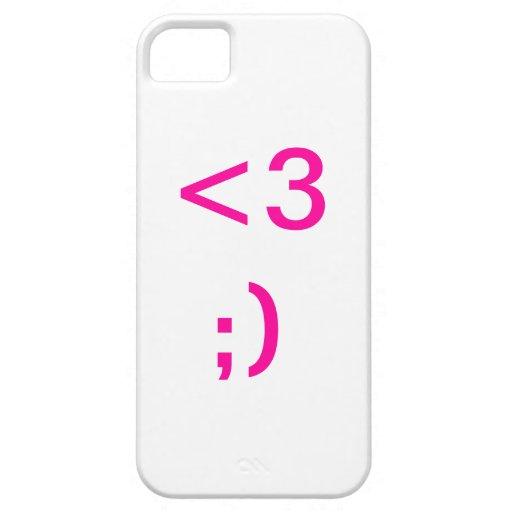 Corazón iPhone 5 Funda