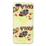 Corazón Las Vegas del amarillo I iPhone 5 Carcasa