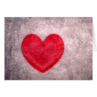 Corazón lavado a la piedra