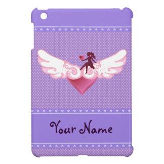 Corazón lindo del ala iPad mini cobertura