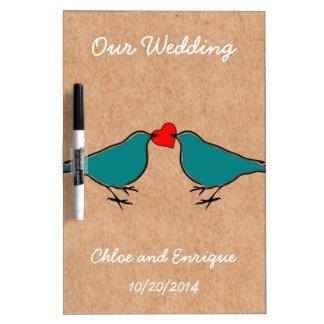 Corazón lindo del amor y boda de encargo de los ch