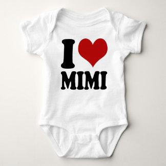 Corazón lindo Mimi de I Camiseta