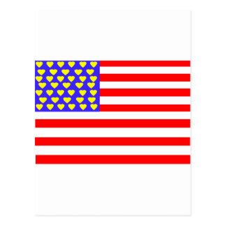 Ⅰcorazón los E.E.U.U. Postales