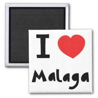 Corazón Málaga Imán Cuadrado