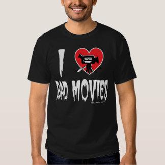 (Corazón) malas películas I (oscuras) Playera