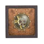 Corazón mecánico de Steampunk Cajas De Recuerdo De Calidad