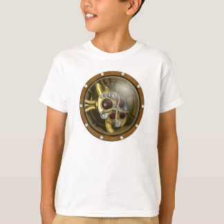 Corazón mecánico de Steampunk Camisas