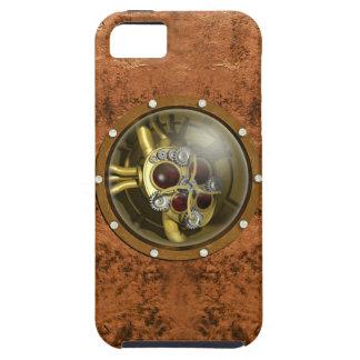 Corazón mecánico de Steampunk iPhone 5 Case-Mate Fundas