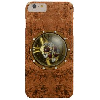 Corazón mecánico de Steampunk Funda De iPhone 6 Plus Barely There
