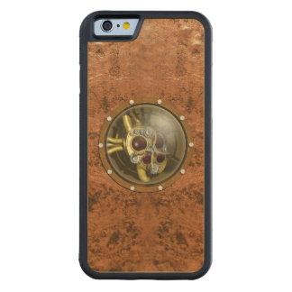 Corazón mecánico de Steampunk Funda De iPhone 6 Bumper Arce