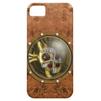 Corazón mecánico de Steampunk iPhone 5 Carcasa