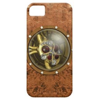 Corazón mecánico de Steampunk iPhone 5 Funda