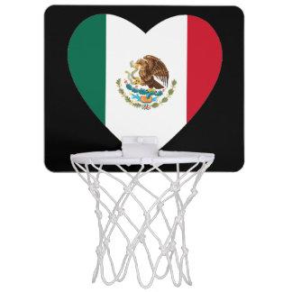 Corazón mexicano canastas mini