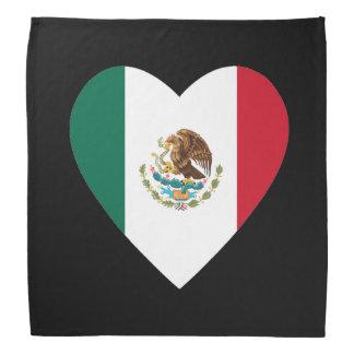 Corazón mexicano bandanas