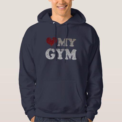 Corazón mi gimnasio pulóver
