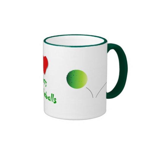 Corazón mi Pickleballs - Tazas De Café