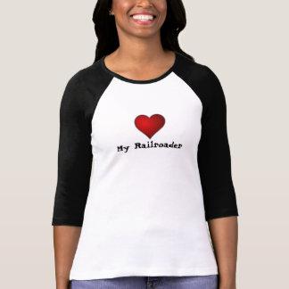 Corazón mi Railroader T-shirt