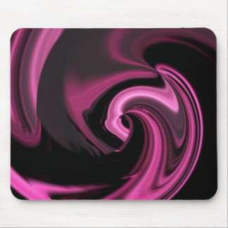 Corazón Mousepad del extracto del rosa color de ro