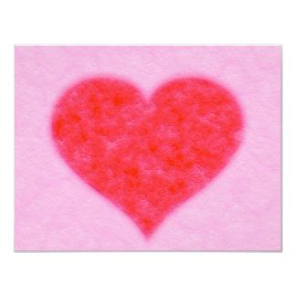 corazón mullido comunicados personalizados