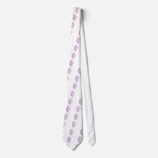 Corazón muy violeta corbata