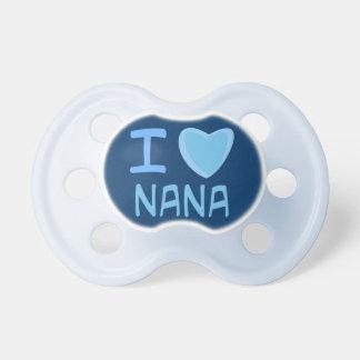 corazón Nana del amor del bebé i Chupete De Bebé