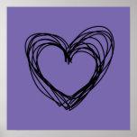 corazón negro 1 poster