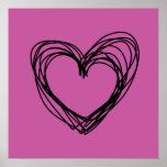 corazón negro 3 poster