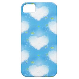 Corazón nublado iPhone 5 funda