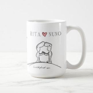 Corazón NUNO de RITA Tazas De Café