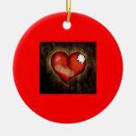 Corazón-ornamento quebrado/de la reparación ornamentos de reyes magos