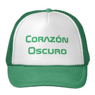 corazón oscuro - dark heart in Spanish Trucker Hat