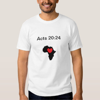 Corazón para África Playeras