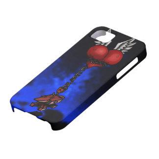 Corazón pesado iPhone 5 funda