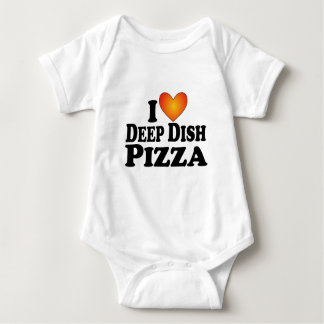 (Corazón) pizza profunda del plato I - Camisas
