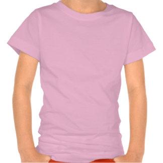 Corazón por completo de la sol camisetas