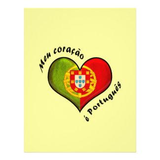 "Corazón portugués folleto 8.5"" x 11"""