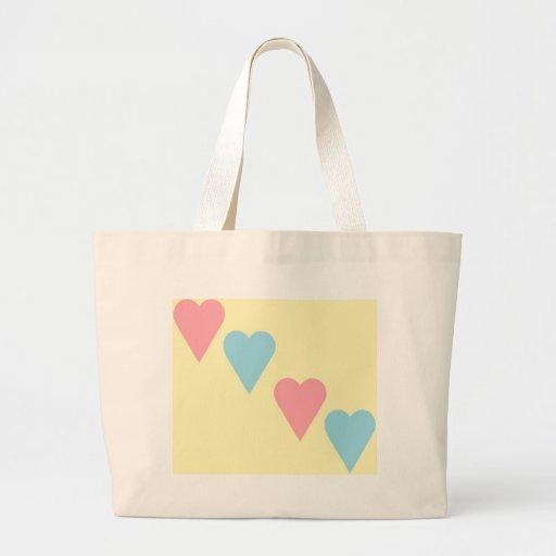 Corazón precioso bolsa de mano