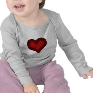Corazón precioso camiseta