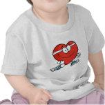 Corazón que activa camisetas